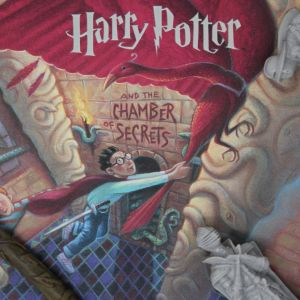 Harry Potter: Chamber of Secrets Book Cover Artwork Preorder