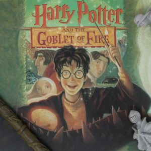 Harry Potter: Goblet of Fire Book Cover Artwork Preorder