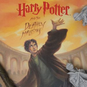 Harry Potter: Deathly Hallows Book Cover Artwork Preorder