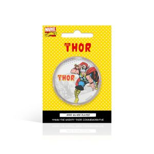 Thor: .999 Silver Plated Commemorative Coin