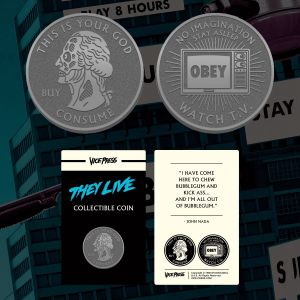 They Live Collector Coin