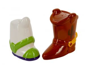 Toy Story: 'There's Seasoning In My Boot' Woody & Buzz Salt & Pepper Shakers