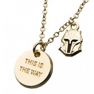 Star Wars: The Mandalorian 'This Is The Way' Necklace