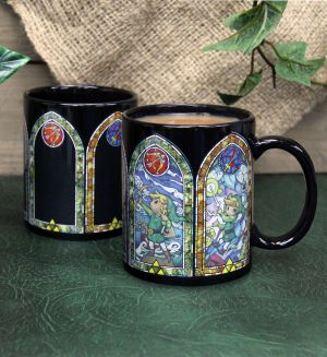 Zelda: Heat Changing Stained Glass Window Mug