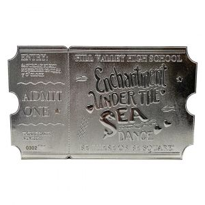 Back To The Future: Limited Edition .999 Silver Plated Dance Ticket