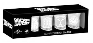 Back To The Future: Flux Capacitor Fuel Shot Glasses