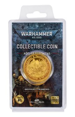 Warhammer 40,000: Sisters of Battle Collectible Coin