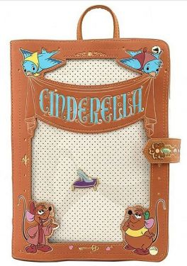 Cinderella: Pin Trader Loungefly Backpack