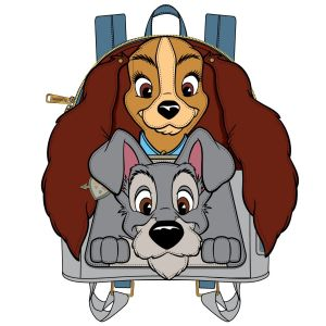 Lady and the Tramp: Cosplay Loungefly Mini Backpack Preorder