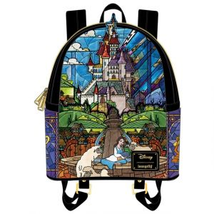 Beauty and the Beast: Disney Princess Castle Series Belle Loungefly Mini Backpack Preorder