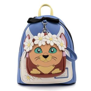 Alice In Wonderland: Cosplay Loungefly Mini Backpack with Mini Wristlet