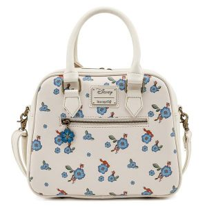 The Fox and the Hound: Floral Loungefly Crossbody Bag