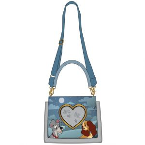 Lady and the Tramp: Wet Cement Loungefly Crossbody Bag Preorder
