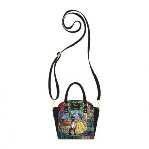 Beauty and the Beast: Disney Princess Castle Series Belle Loungefly Crossbody Bag Preorder