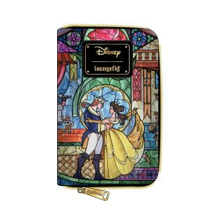 Beauty and the Beast: Disney Princess Castle Series Belle Loungefly Zip Around Purse Preorder