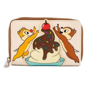 Chip and Dale: Cherry On Top Loungefly Zip Around Purse Preorder