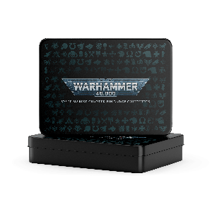Warhammer 40,000: Chapter Pin Badge Set w/Printed Tin