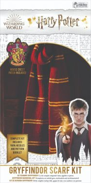 Harry Potter: Gryffindor Hogwarts House Scarf Knitting Kit