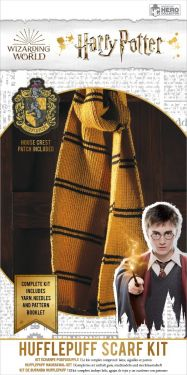 Harry Potter: Hufflepuff Hogwarts House Scarf Knitting Kit
