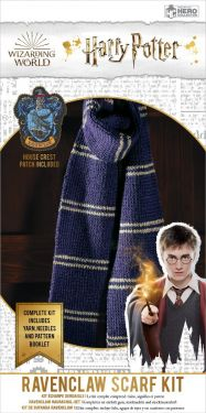 Harry Potter: Ravenclaw Hogwarts House Scarf Knitting Kit