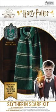 Harry Potter: Slytherin Hogwarts House Scarf Knitting Kit