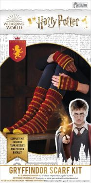 Harry Potter: Gryffindor Hogwarts House Mittens and Slouch Socks Knitting Kit