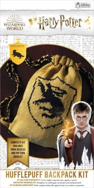 Harry Potter: Hufflepuff Hogwarts House Reversible Kit Bag Knitting Kit