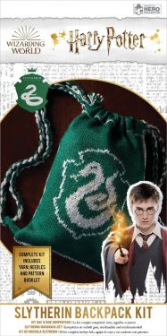 Harry Potter: Slytherin Hogwarts House Reversible Kit Bag Knitting Kit