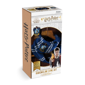 Harry Potter: Ravenclaw Infinity Scarf/Cowl Knit Kit Preorder
