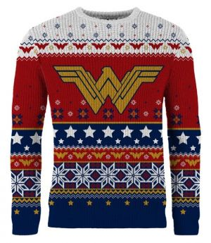 Wonder Woman: Winter Wonder-land Knitted Christmas Sweater