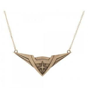 Wonder Woman: Star-Crossed Swords Necklace