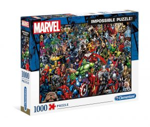 Marvel: 80th Anniversary Impossible 1000pc Jigsaw Puzzle Preorder