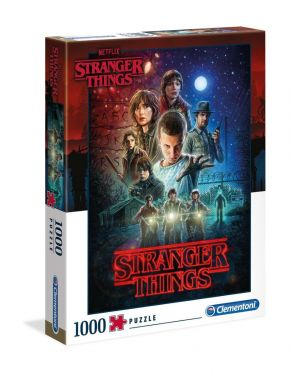 Stranger Things: Season 1 1000pc Jigsaw Puzzle