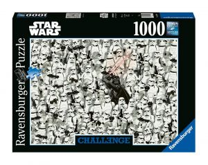 Star Wars: Darth Vader and Stormtrooper 1000pc Challenge Jigsaw Puzzle Preorder