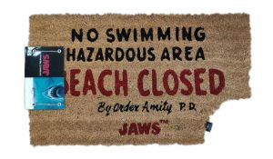 Jaws: Beach Closed Doormat
