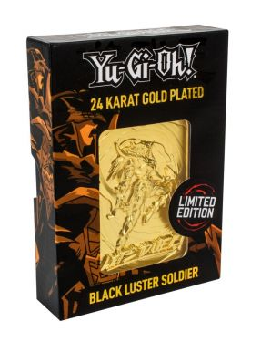 Yu-Gi-Oh!: Black Luster Soldier Limited Edition 24K Gold Plated Metal Card