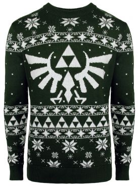 Legend of Zelda: O Hyrule-y Night Knitted Christmas Sweater
