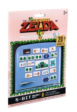 Legend Of Zelda: Stick It To 'Em Magnet Set
