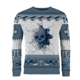 Gears of War: …And A Happy New Gear! Knitted Christmas Sweater (includes Gears 5 Lancer DLC Code) - Merchoid