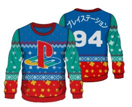 PlayStation: 12 Days of Play Christmas Sweater - Merchoid