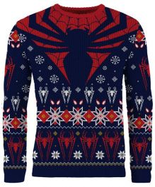 Spider-Man: 'Tis The Season To Be Spidey Knitted Christmas Sweater - Merchoid